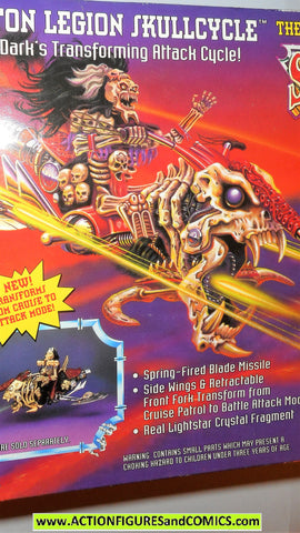 Skeleton Warriors LEGION SKULL CYCLE 1994 Playmates toys action figure moc MIB