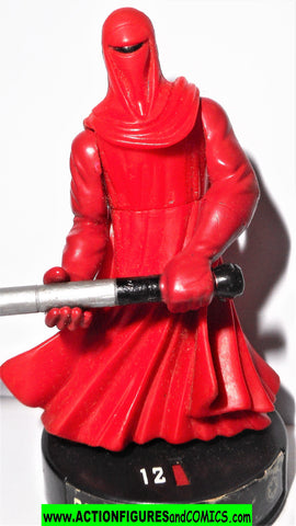 Attacktix Star Wars ROYAL GUARD emperor's 07 2 rare action figures