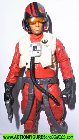STAR WARS action figures POE DAMERON X-WING 6 inch the Black Series
