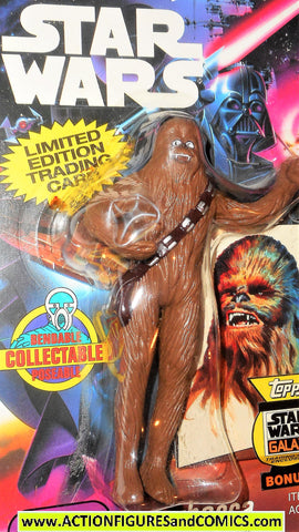 star wars action figures bend-ems CHEWBACCA 1993 just toys moc