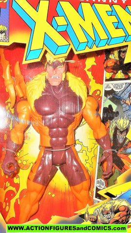X-men X-force toy biz SABRETOOTH deluxe 10 inch animated marvel mib moc