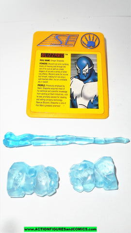 Iron man BLIZZARD weapon Accessory Set 1995 marvel universe toy biz