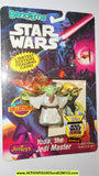 star wars action figures bend-ems YODA 1993 trading card moc mip mib