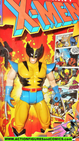 X-men X-force Toy biz WOLVERINE deluxe 10 INCH yellow marvel universe moc mib