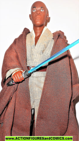 star wars action figures MACE WINDU 12 inch episode I 1999