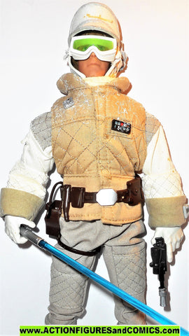 star wars action figures LUKE SKYWALKER 12 inch Hoth gear snow 1997