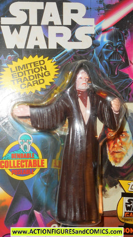 star wars action figures bend-ems OBI WAN KENOBI 1993 moc mip mib