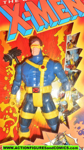 X-men X-force toy biz CYCLOPS deluxe 10 INCH marvel universe toybiz moc mib