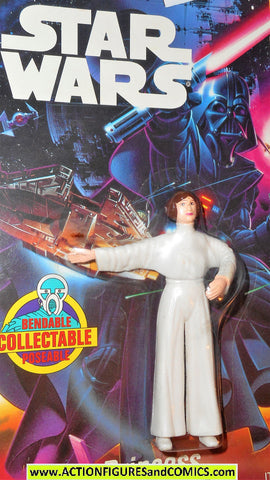 star wars action figures bend-ems PRINCESS LEIA 1993 1st release moc mip mib