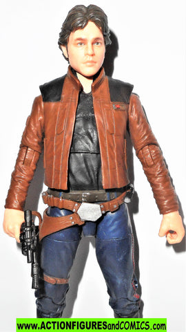 STAR WARS action figures HAN SOLO 62 6 inch the Black Series