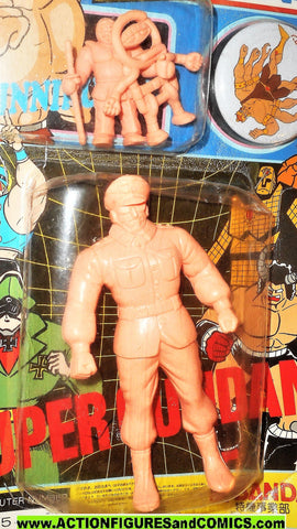 Kinnikuman Kinkeshi BROCKEN chainman big the budo muscle vintage moc
