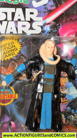 star wars action figures bend-ems BIB FORTUNA 1994 moc