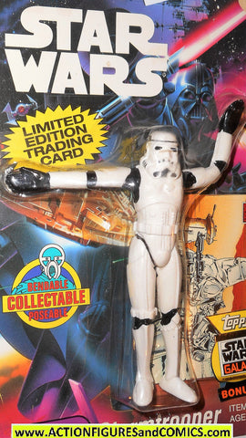 star wars action figures bend-ems STORMTROOPER 1993 1st card moc