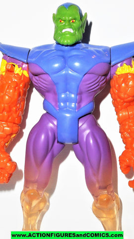 Fantastic Four SUPER SKRULL 1995 marvel hour 4 toy biz universe