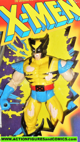 X-men X-force Toy Biz WOLVERINE 10 inch BATTLE RAVAGED animated moc mib