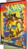 X-men X-force Toy Biz WOLVERINE space suit 10 INCH animated deluxe moc mib