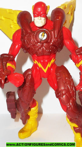 Total Justice JLA FLASH barry allen 1995 complete armor league