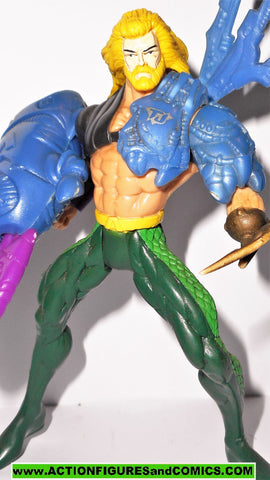 Total Justice JLA AQUAMAN 1996 Complete dc universe justice league kenner