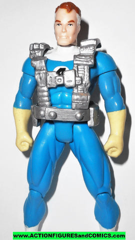 Fantastic Four MR FANTASTIC 1994 marvel action hour 4 toy biz super stretch arms