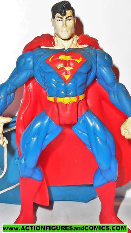 Total Justice JLA SUPERMAN 1996 Complete dc universe league kenner 100%
