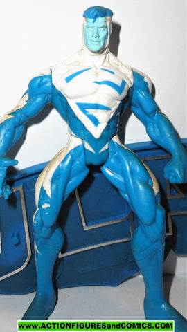 Total Justice JLA SUPERMAN BLUE 1996 Complete dc universe league kenner 100%