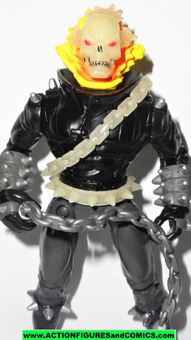ghost rider toy biz GHOST RIDER flame glow 1995 marvel action hour universe