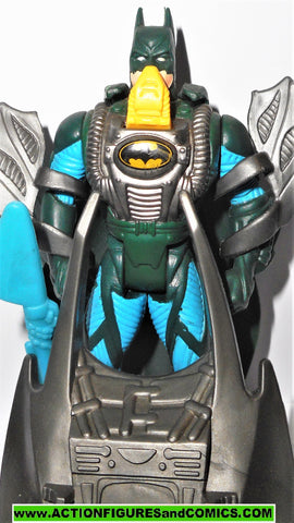 Batman Forever MANTA RAY BATMAN 1995 movie complete kenner toy dc universe