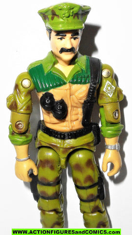 Gi joe LEATHERNECK 1986 hasbro toys vintage action figures fig
