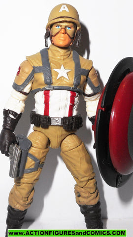 marvel universe CAPTAIN AMERICA desert battle 16 016 hasbro toys action figures movie