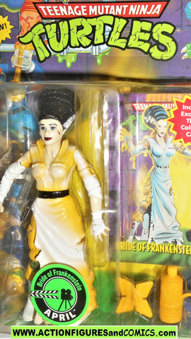 teenage mutant ninja turtles APRIL O'NEIL bride of frankenstein vintage 1994 moc