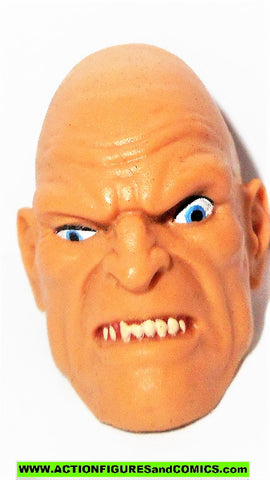 marvel legends ABSORBING MAN HEAD baf build a figure hulk part