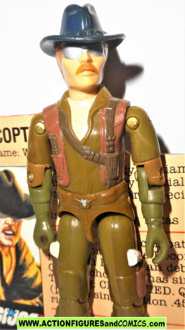 Gi joe WILD BILL 1983 hasbro toys vintage action figures complete