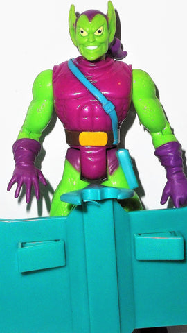 Spider-man the Animated series GREEN GOBLIN 1994 toy biz marvel glider