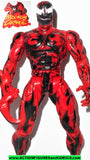 Spider-man the Animated series CARNAGE MAXIMUM variant toy biz action figure