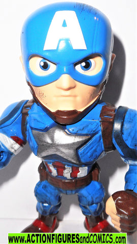 Marvel metals die cast CAPTAIN AMERICA 4 inch Jada toys