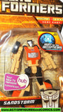 transformers classics SANDSTORM Beachcomber reveal the shield 3 inch legends 2010 moc