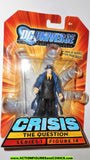 dc universe infinite heroes QUESTION 14 VARIANT Trenchcoat 2008 crisis  moc