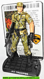 gi joe PIT TROOPER 2009 rise of Cobra movie Toys R Us attack headquarters