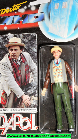 doctor who action figures SEVENTH DOCTOR vintage 1987 DAPOL brown jacket dr moc