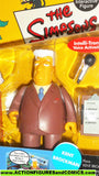 simpsons KENT BROCKMAN 2001 playmates world of springfield wos moc