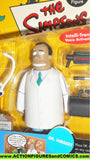 simpsons DR HIBBERT 2002 playmates world of springfield wos moc