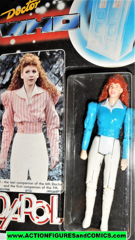 doctor who action figures MEL blue 6th 7th doctor vintage 1987 DAPOL dr moc