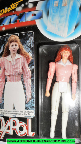 doctor who action figures MEL PINK 6th 7th doctor vintage 1987 DAPOL dr moc