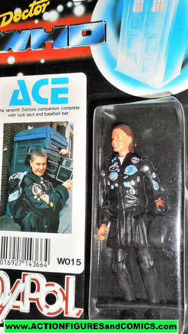 doctor who action figures ACE seventh 7th vintage 1987 DAPOL dr moc