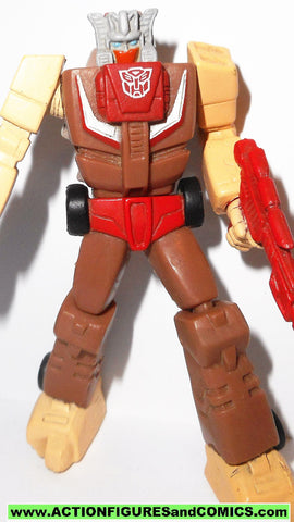 transformers pvc CHROMEDOME headmaster heroes of cybertron takara hasbro toys action figures