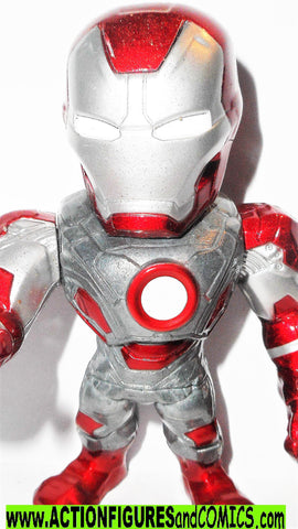 Marvel metals die cast IRON MAN Mark V 4 inch inch Jada toys