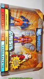 dc universe infinite heroes THREE PACK 14 Animal man starfire adam strange moc mib