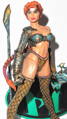 WITCHBLADE moore collectibles MEDIEVAL WITCHBLADE complete 1998 6 inch