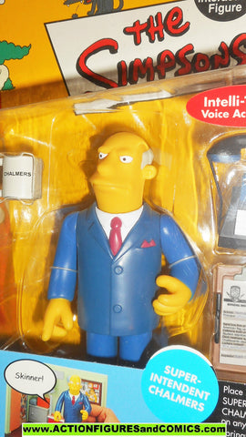 simpsons SUPERINTENDENT CHALMERS 2002 series 8 playmates