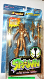 Spawn ANGELA 1995 series 2 GOLD kaybee exclusive todd mcfarlane toys moc